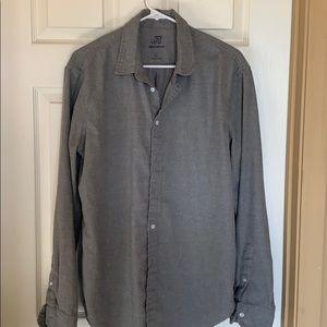 Men's lightweight grey flannel size L